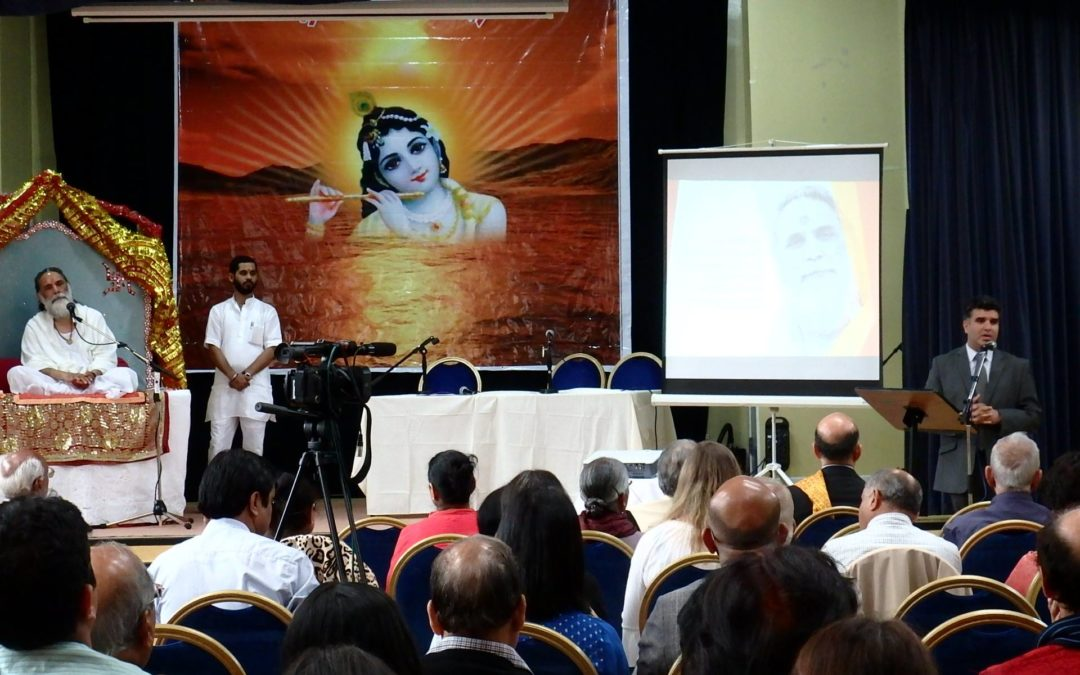 First Ever Conference Organised By Hindu Religious Society, Manchester