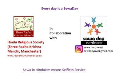 Hindu Religious Society Participation in Sewa Day on 4th October 2020